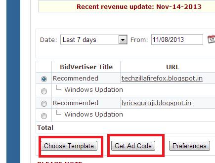 bidvertiser-make money online-by-your-blog-or websites [Techzilla Firefox]