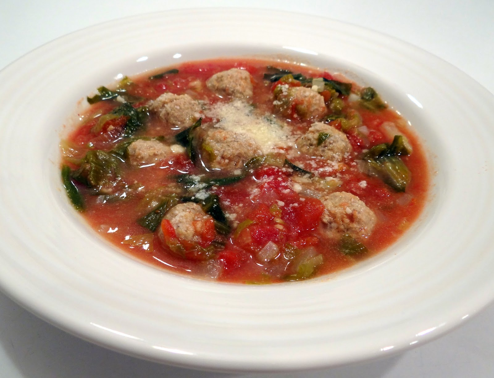 ... always thyme to cook...: Italian Wedding Soup with Turkey Meatballs