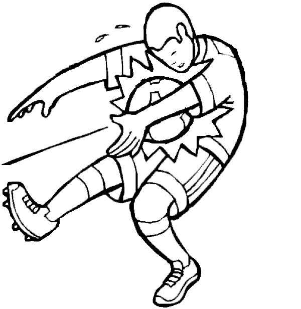 soccer and coloring pages - photo#26