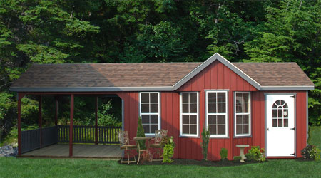 Outdoor unlimited sheds tuff shed at home depot for Home designs unlimited llc
