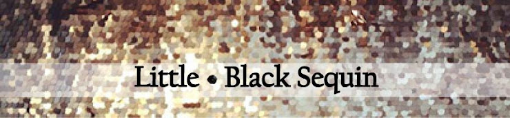 little black sequin