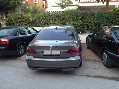 köra bil i Grekland