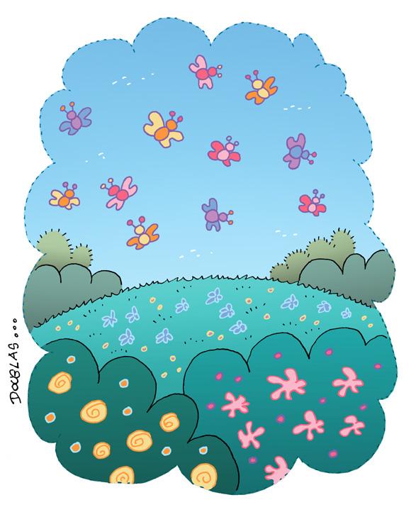 El jard n de douglas el campo lleno de flores for Cuarto lleno de rosas