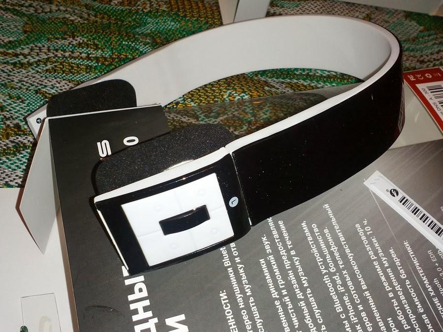 Bluetooth-наушники DNS A-300 фотография крупно