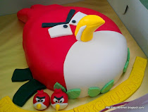 3D Angry Birds Cake