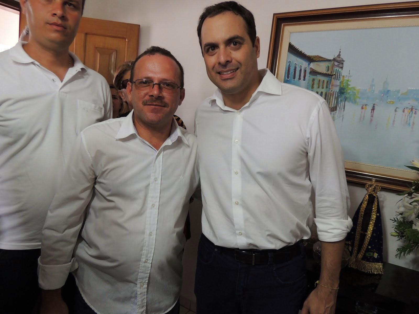 Governador Paulo Câmara & Jornalista Vanderlei Silva Miron.