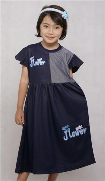 Baju Anak Bahan Denim