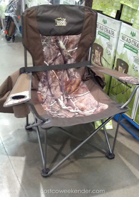 Timber Ridge Camouflage Quad Chair: great for camping