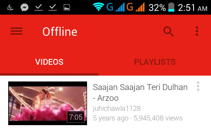 YouTube Offline Playback - View YouTube Videos Offline With YouTube Android App and iOS App
