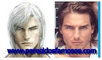 Dante Devil May Cry con Tom Cruise