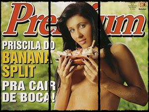 Sexy Premium Junho 2005 Com Priscila Carrillo Nua
