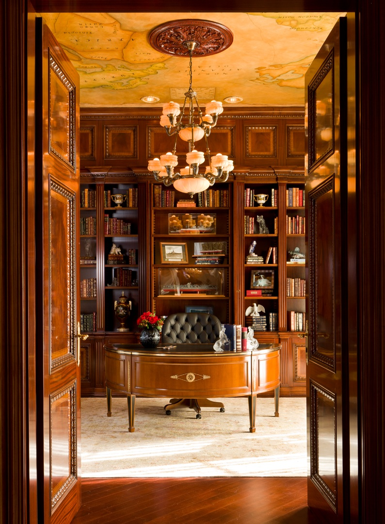 classic office interiors. Building Your Dream Home Library With Classic Office Interiors