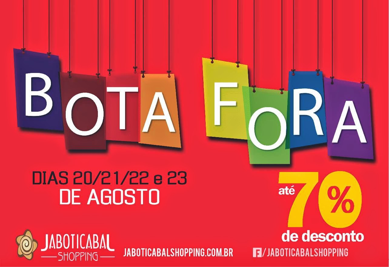 bota fora shopping