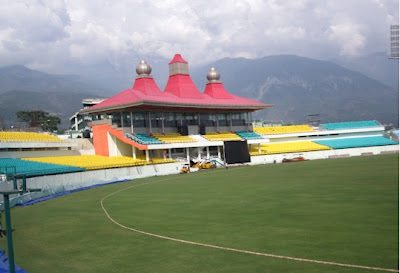 Mcleodganj, dharamsala, hill stations, buddhism, india, travel, cricket stadium