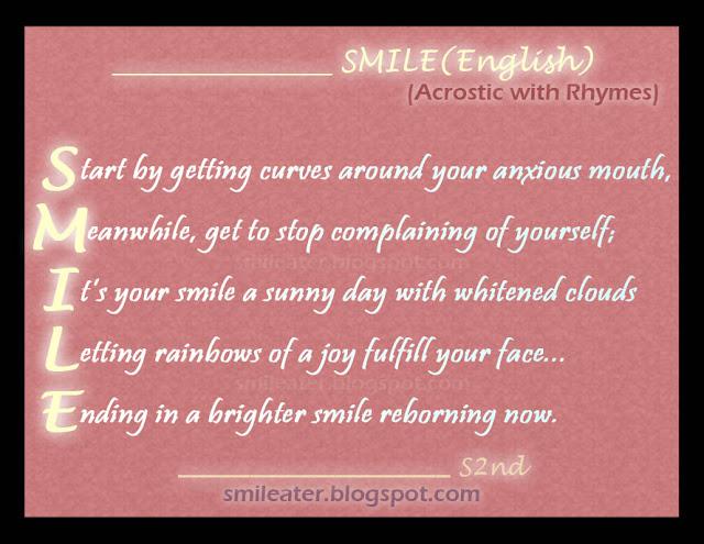 Smile Acrostic Poem