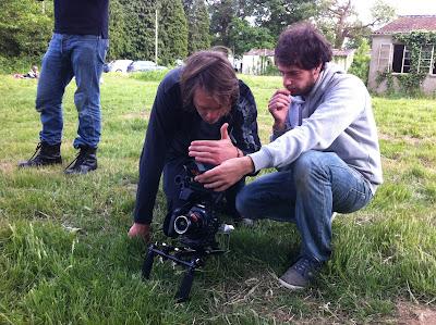 shooting Black Rain video
