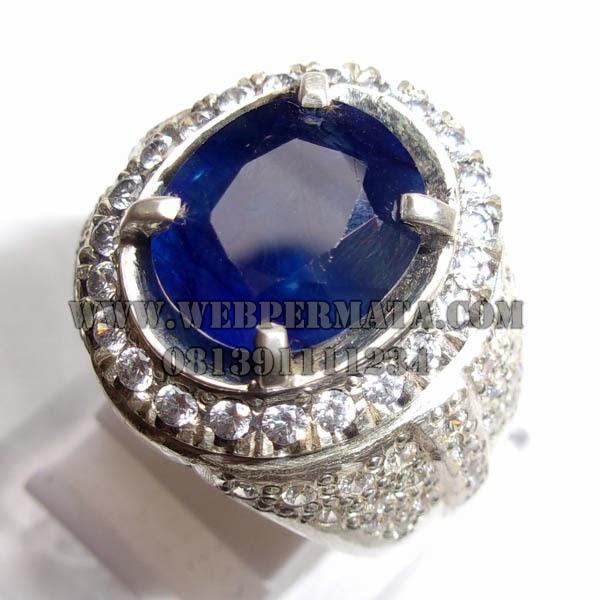 Batu Sapir Asli, Natural Blue Sapphire, Koleksi Batu Savir, Batu blue ...