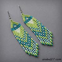 купить серьги ручной работы в украине подарок девушке женщине