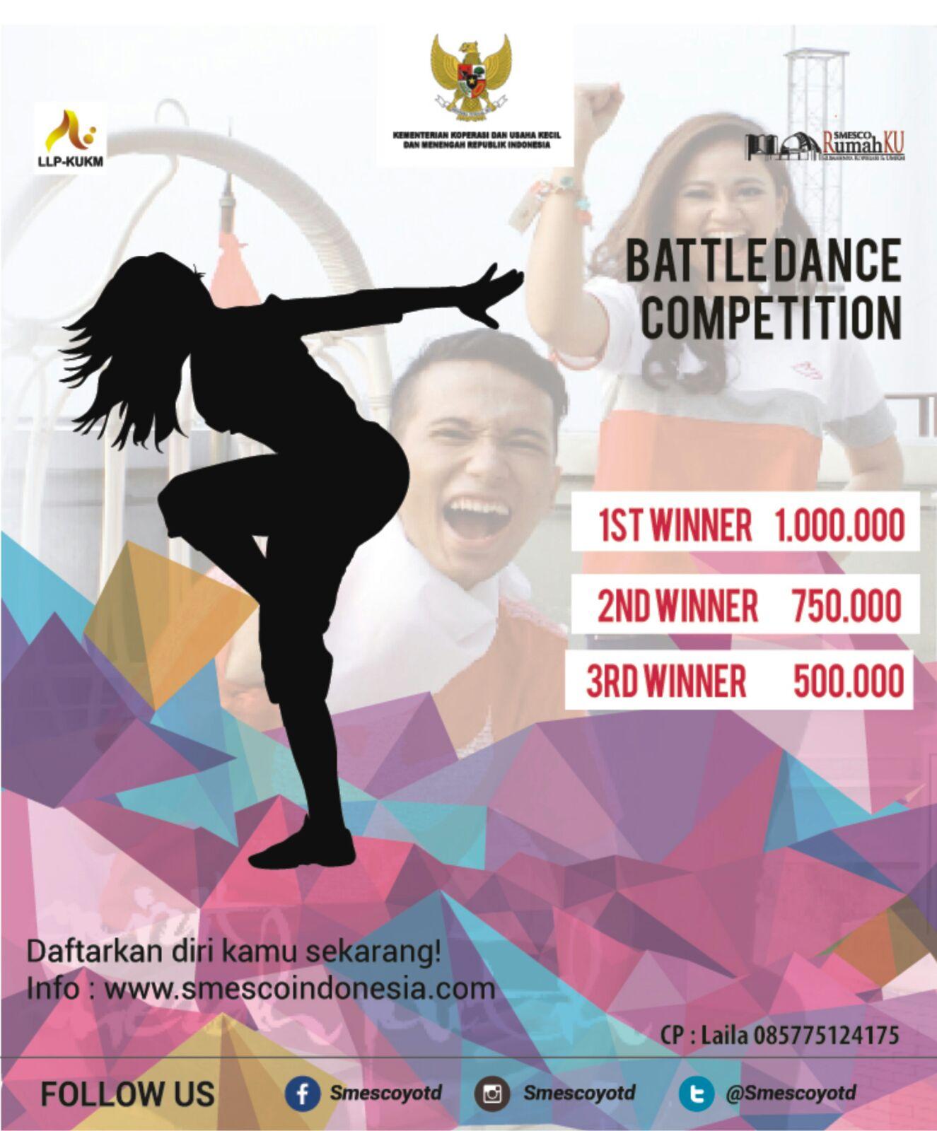 October 2015 Smesco Promo Produk Ukm Bumn Kain Batik Handmade Warna Alam Battle Dance Competition