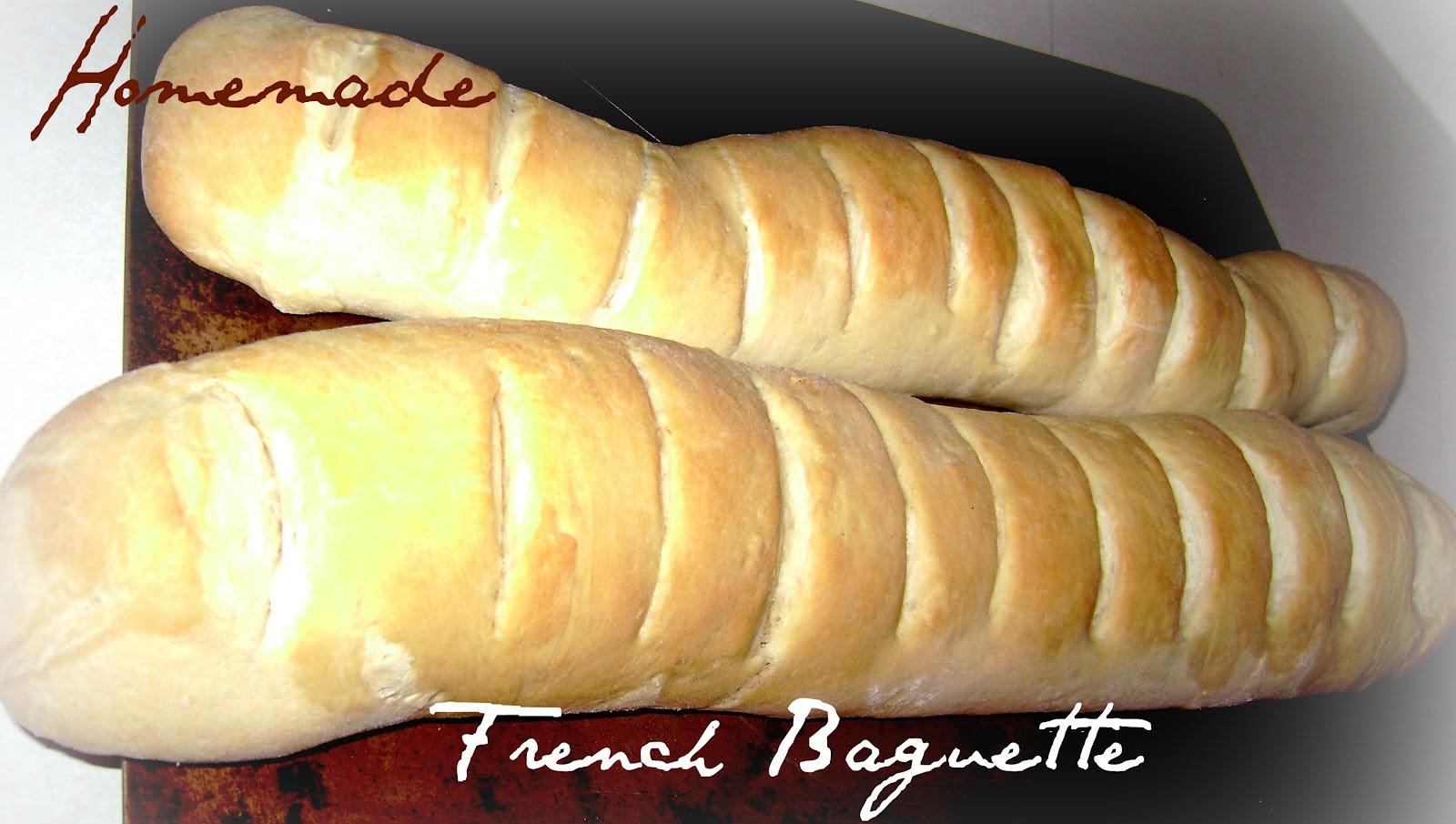 baguette recipe no bread machine