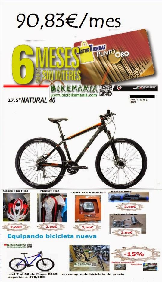 Promocion compra bicicleta Mayo