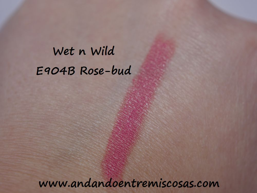 Wet n Wild, 904 Rose-bud, Swatch