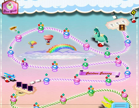 Candy Crush Saga 426-440 ending
