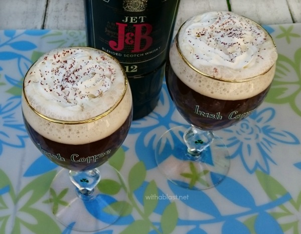How To Make Irish Coffee ~ Quick and easy recipe with tips, and you will know how to make Irish Coffee ! Perfect dessert drink {and a must!} for St Patrick's Day