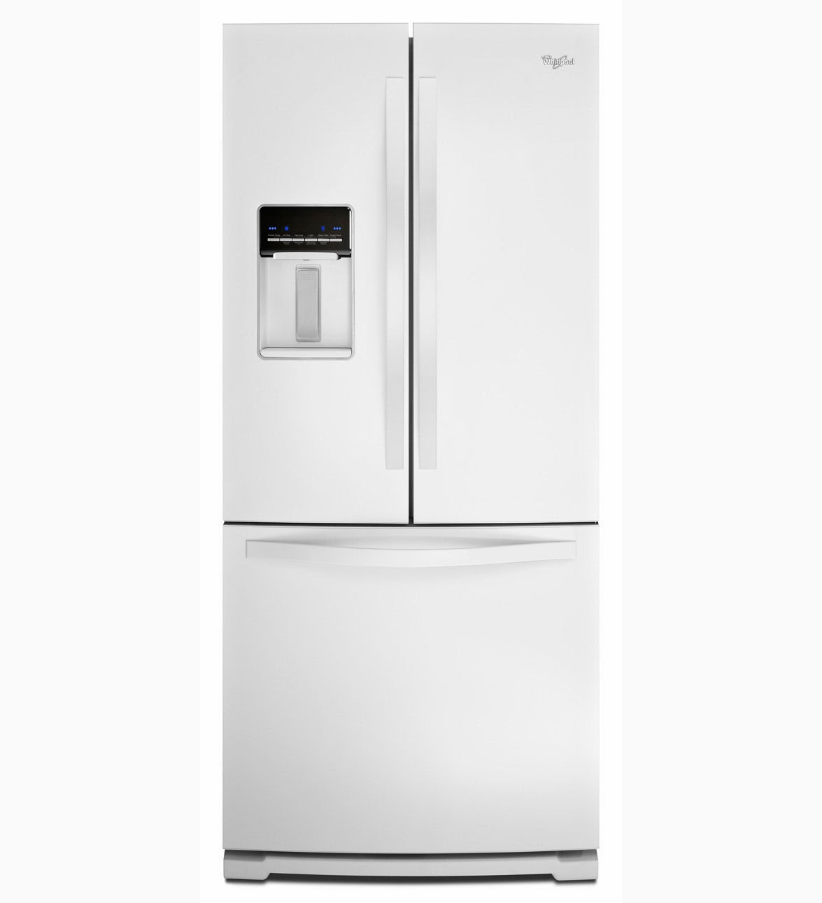 whirlpool refrigerator brand whirlpool wrf560seyw white. Black Bedroom Furniture Sets. Home Design Ideas