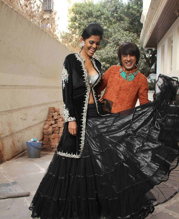 , Hot Natasha Suri Rohit Verma's Bridal Collection