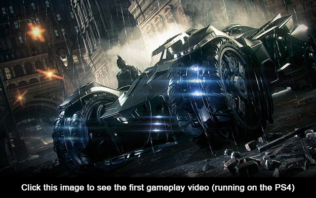 Batman Arkham Knight Gameplay Video