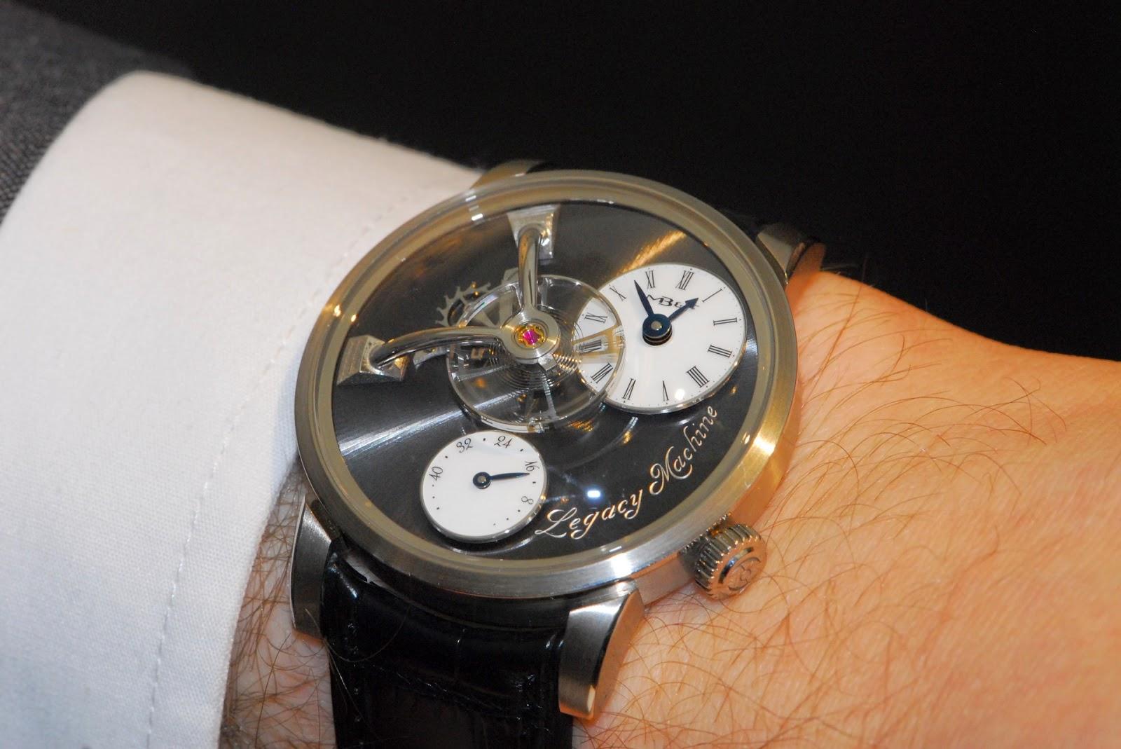 wristshot Montre MB&F Legacy Machine 101