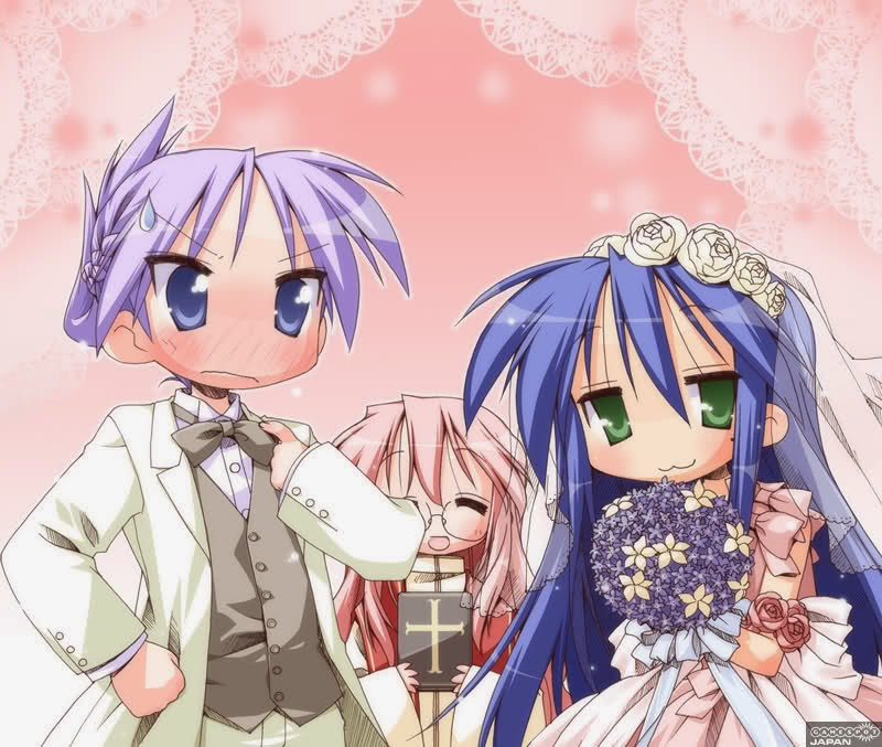 konata and kagami relationship problems