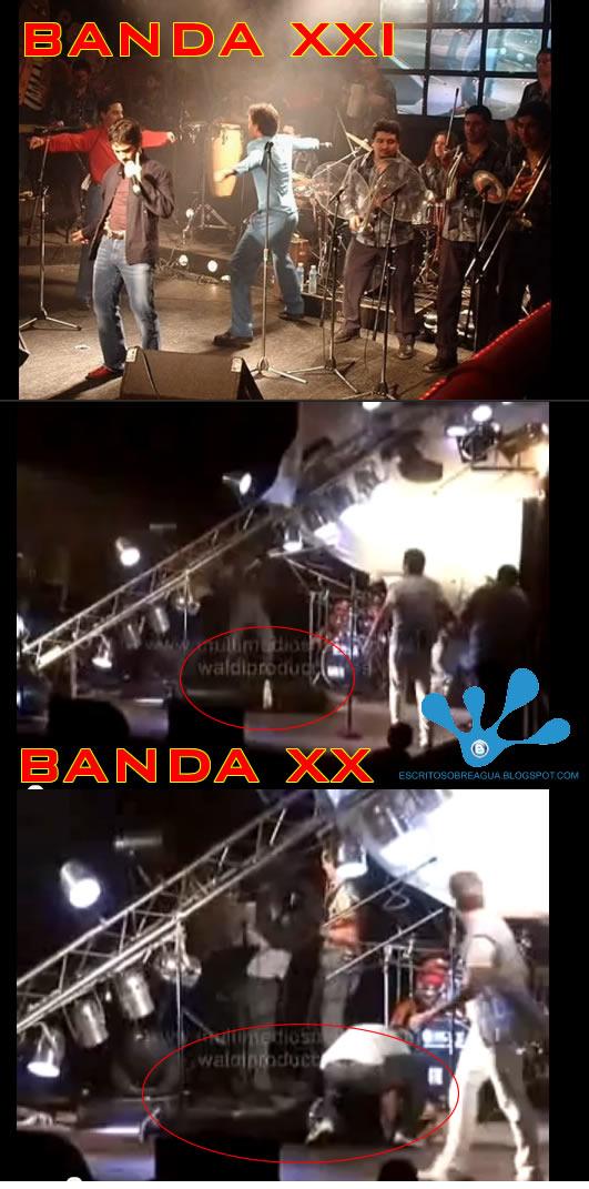 El cantante de Banda XXI resultó herido durante un show