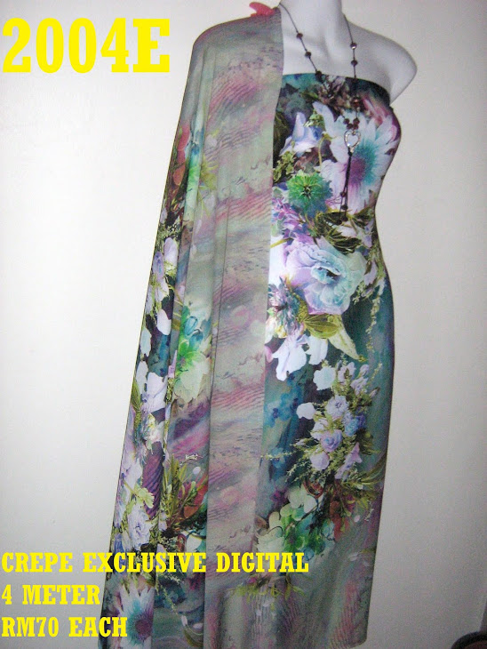 CP 2004E: CREPE EXCLUSIVE DIGITAL PRINTED, 4 METER