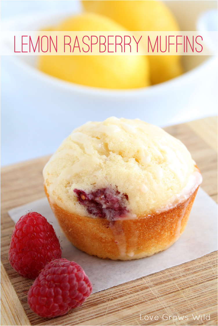 These Lemon Raspberry Muffins are the perfect brunch menu item! The ...