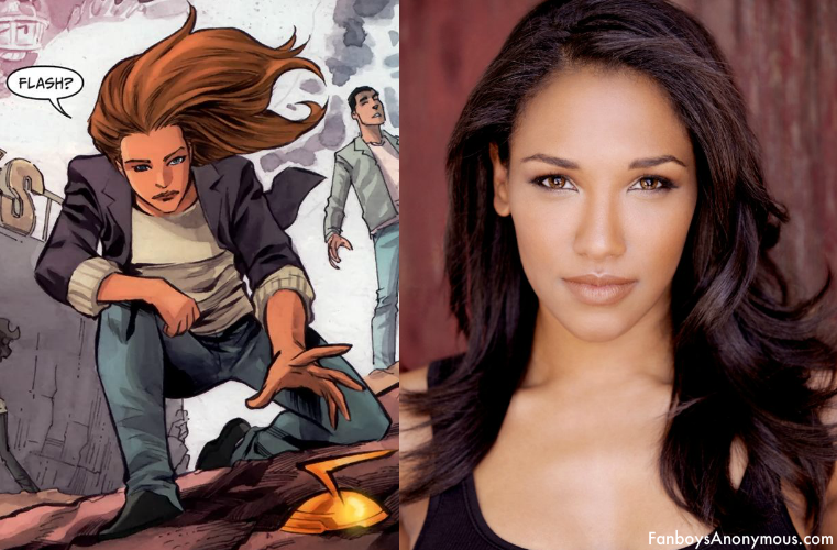 The Flash TV series casts Candice Patton as Iris West