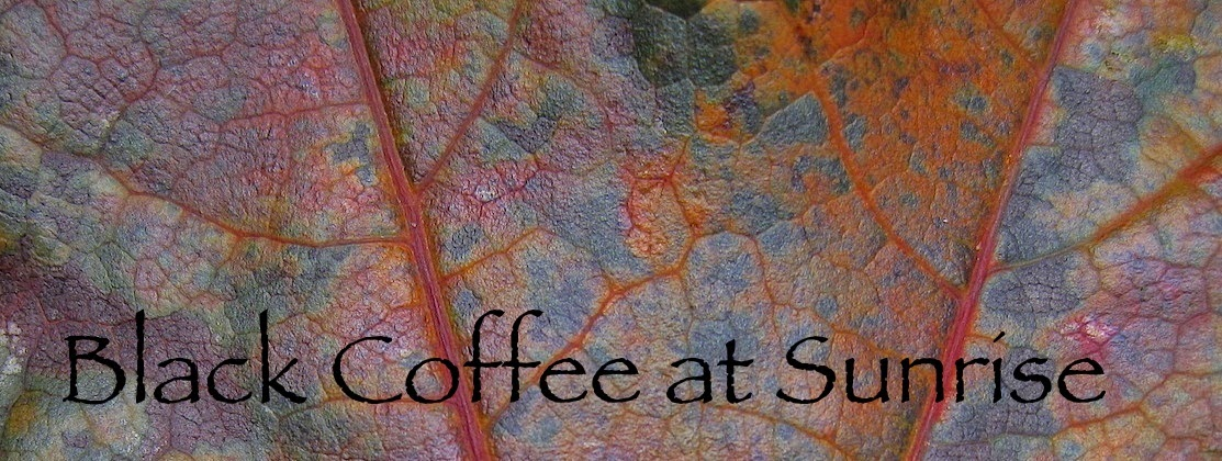 Black Coffee at Sunrise