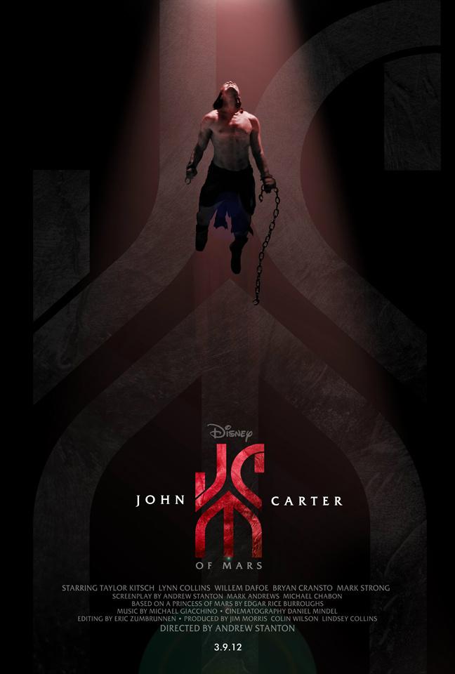 The Geeky Nerfherder: Movie Poster Art: John Carter (2012)