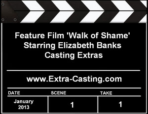 Walk of Shame Extras Casting