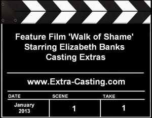 Walk of Shame Extras Casting