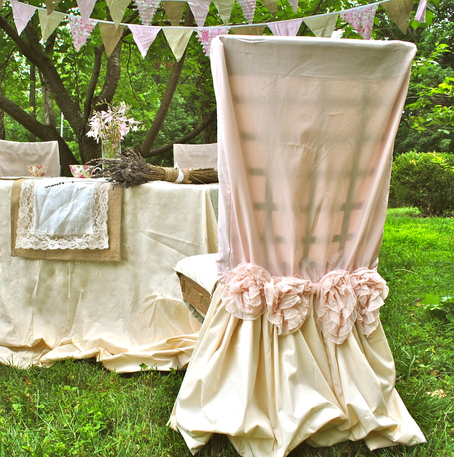 Shabby Chic Tea Party Country Home Decor