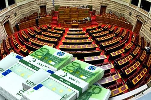 «Λεφτά υπάρχουν» για τα κόμματα της κλεπτοκρατίας - Μοιράστηκαν 7 εκατ. ευρώ με εντολή της κυβέρνησης