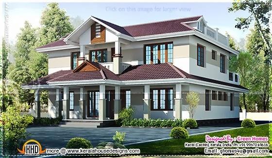 Beautiful Kerala home
