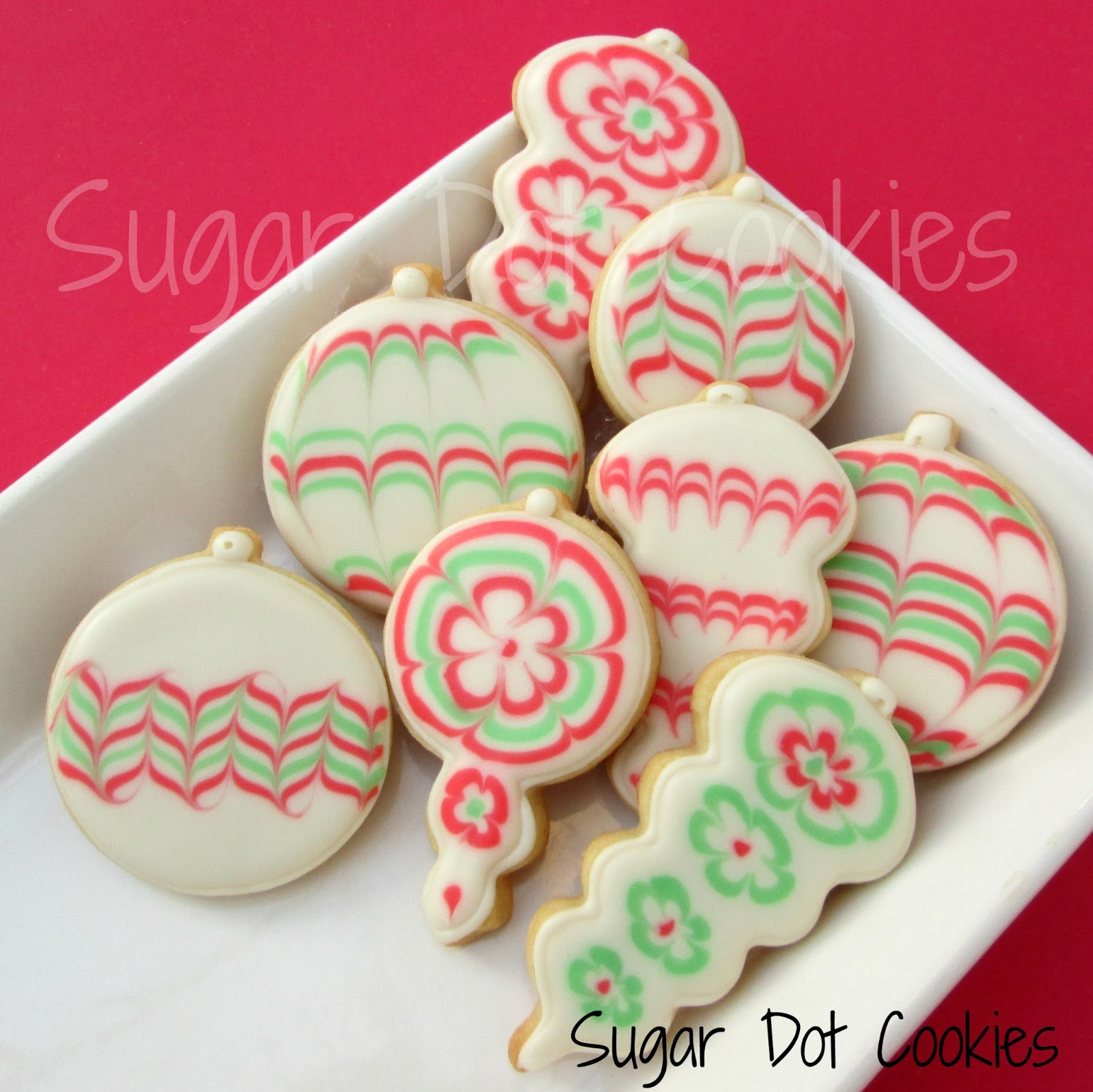 christmas cookie icing corn syrup