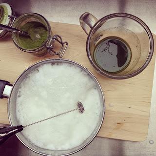 latte thé matcha vanille