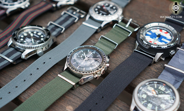 Vintage Rolex 5513 with real Nato Straps from UK