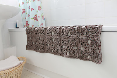 free crochet bath mat pattern