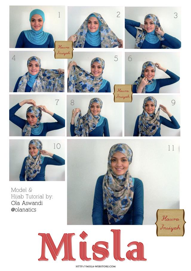 Tutorial Hijab Turban Dian Pelangi   www.imgkid.com - The ...