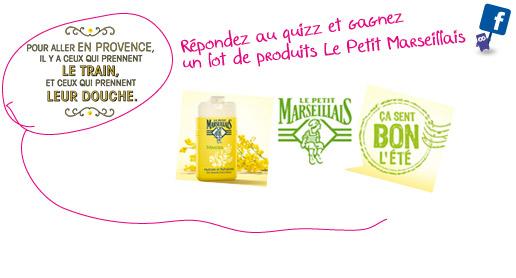 jeu IDTGV: gagnez des produits Le Petit Marseillais